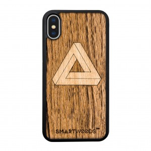 SMARTWOODS OBUDOWA IMPOSSIBLE TRIANGLE ACTIVE iPhone X/Xs