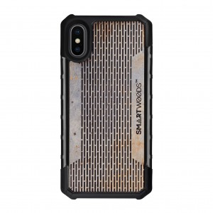 SMARTWOODS OBUDOWA SOLID ARMOR PASS STRUCTURE iPhone X/Xs CONCRETE