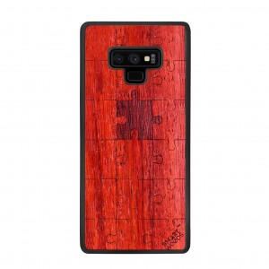 SMARTWOODS OBUDOWA PUZZLE RED SAMSUNG GALAXY NOTE 9