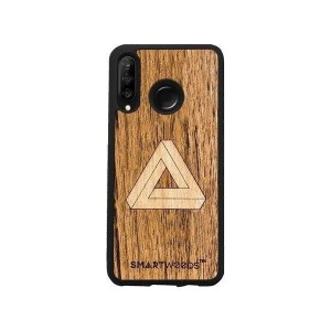 SMARTWOODS OBUDOWA IMPOSSIBLE TRIANGLE HUAWEI P30 LITE